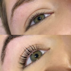 eyelash lift and tint beauty packages in derby